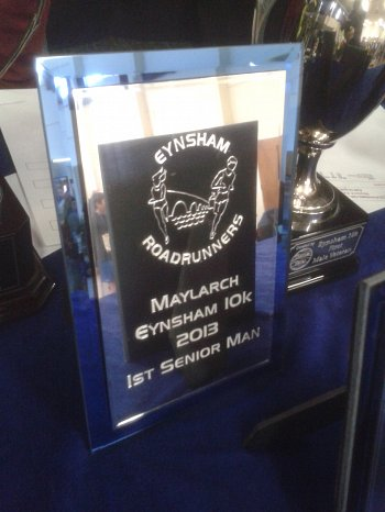 Maylarch Eynsham 10K run - Results 2013
