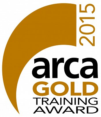 ARCA Gold training award and new Apprenticeship Programme