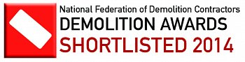 Maylarch is shortlisted at the 2014 NFDC Demolition Awards