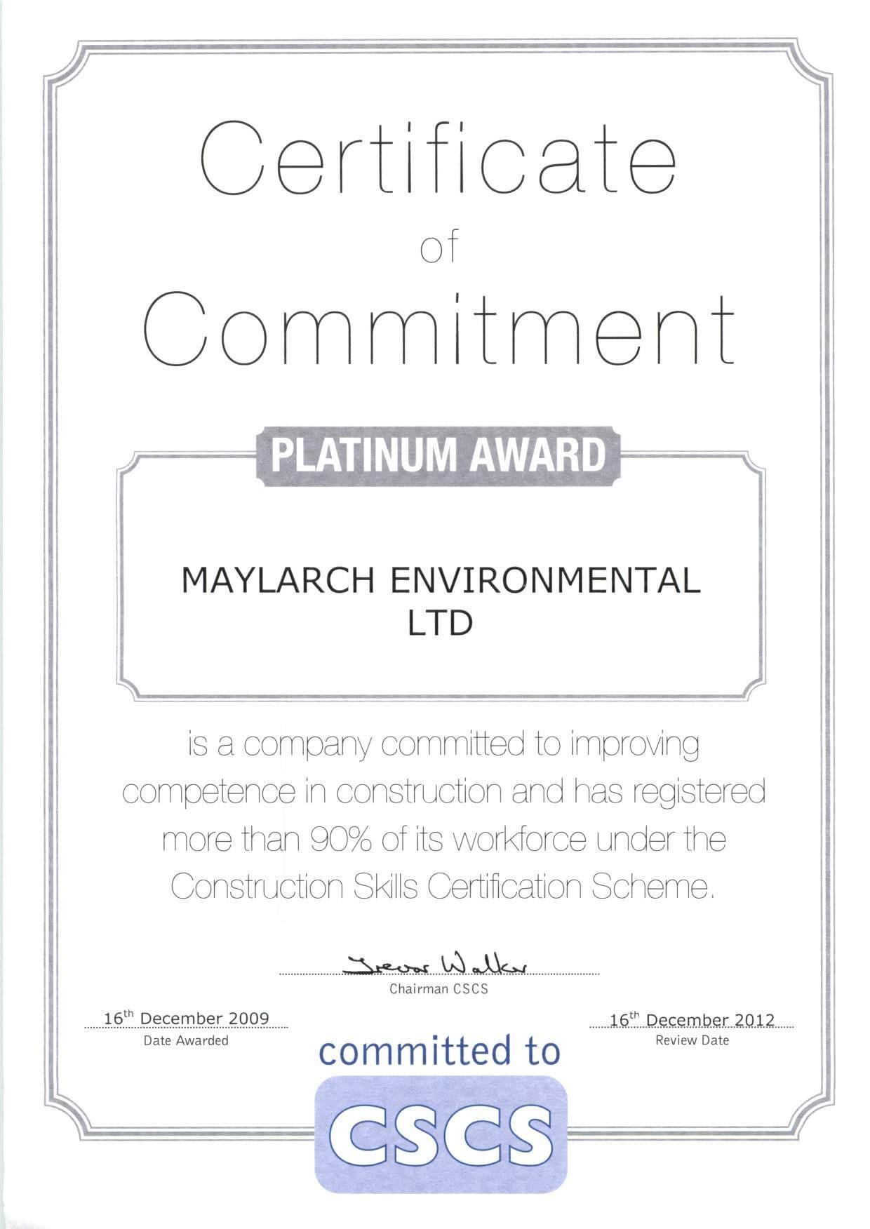 Maylarch Go Platinum